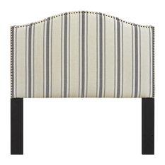 Home Fare Upholstered Panel Headboard Full/Queen - Cambridge Seaside