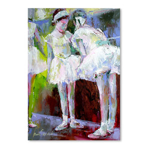 """Dancers,"" Art Print, 12""x16""x0.1"""