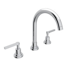 Rohl   Lombardia Bathroom Faucet With Brass Pop Up #A2208Lm, Polished  Chrome