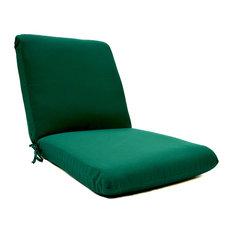 Sunbrella Club Cushion, Canvas Forest Green