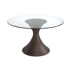 50 Most Popular Glass Top Dining Room Tables For 2019 Houzz
