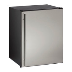 "U-Line 24"" Energy Star Rated Built-In Solid Door Compact Refrigerator"
