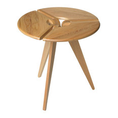 22-inch Round Side Table Cypress