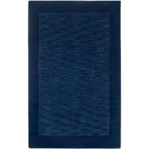 Geometric Tribal Indigo Blue Wool Area Rug 8x10 White Faded Midcentury Graphic Scandinavian Area Rugs By My Swanky Home