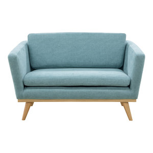 Love Seat Sofa, Indian Blue