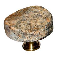 "Mountain River ""Gems"" Knob River Rock, Polished Gold"