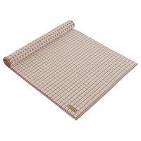MV Check Structure Absorbent Cotton 1440 GSM Luxurious Bath Mat, Medium