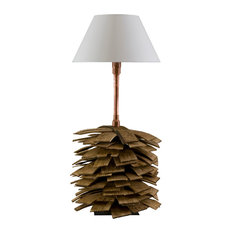Shingle Table Lamp, Small