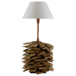 Shingle Table Lamp, Small