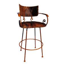 Wrought iron bar stools and counter stools houzz - Western bar stools wrought iron ...