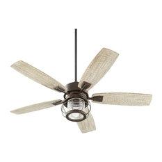 Most popular beach style ceiling fans for 2018 houzz quorum international quorum 3525 86 galveston ceiling fan with light kit oiled bronze aloadofball Choice Image