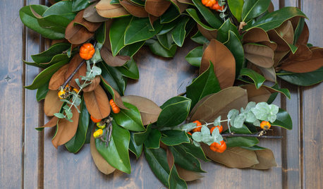 DIY: Make a Fresh Magnolia Wreath
