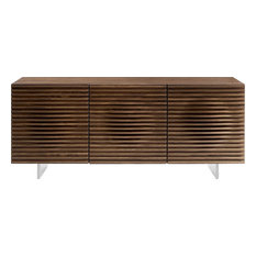 Casabianca Home Moon Walnut Veneer Buffet
