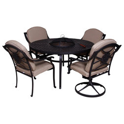 Transitional Outdoor Dining Sets by Patio Retreat