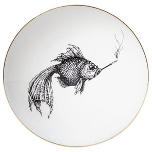 Smoky Fish Plate, Small