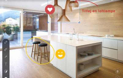 Houzz app: Udforsk Sketch, en ny måde at puste liv i dine design-idéer