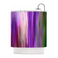 """Ebi Emporium """"Irradiated Multi 2"""" Shower Curtain"""