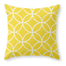 "Pattern 2B Throw Pillow, Indoor Cover, 16""x16"" With Pillow Insert"