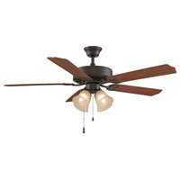 "Aire Decor 52"" Ceiling Fan in Oil Rubbed Bronze With Light Kit"