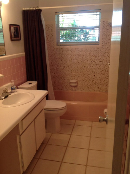 Bathroom walls - to tile or not to tile?