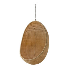 Sika Design Hanging Egg Chair by Nanna Ditzel, Natural