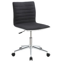 Coaster Office Chairs Sleek Office Chair With Chrome Base 800725