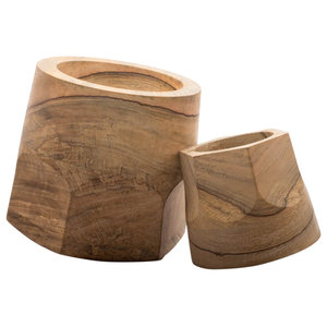Terra Dual Swinging Planter Pot, Set of 2
