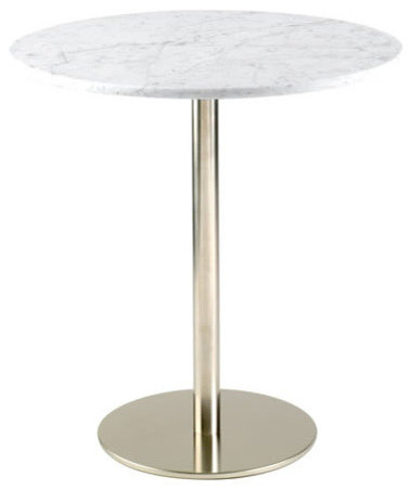 Kitchen and dining room tables home and commercial options for Round marble kitchen table