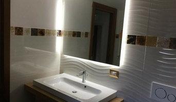 Specchio LED perimetrale - illuminazione posteriore