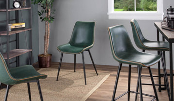 Up to 65% Off Upholstered Bar Stools and Dining Chairs