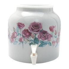 Goldwell Designs Love of Spring Design Water Dispenser Crock