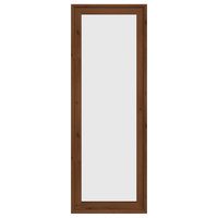 Portland Collection Walnut Stained Standing Mirror