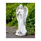 Praying Angel Garden Figurine