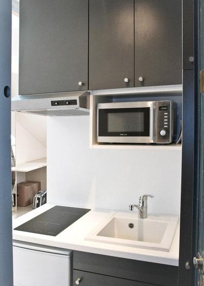 trend mini k che die besten tipps zum einrichten kleiner k chen. Black Bedroom Furniture Sets. Home Design Ideas