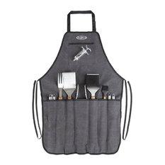 Fire Sense - Fire Sense Elite Stainless Steel BBQ Tool Set - Grill Tools & Accessories