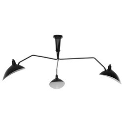 Midcentury Flush-mount Ceiling Lighting by Modway