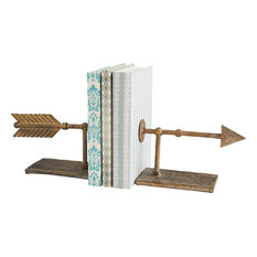 Archer Bookends, Rustic