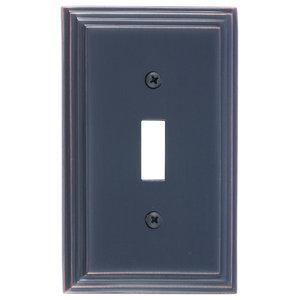 Classic Steps Single Switch, Venetian Bronze