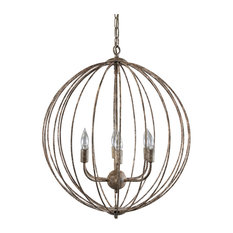 Magellan Six Bulb Chandelier by Kosas Home