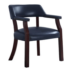 Coaster Traditional Blue Home Office Chair