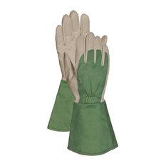 Bellingham Glove Green Thorn Resistant Gauntlet Gloves, Extra Large