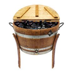 Wine Barrel 30 Gallon Ice Chest