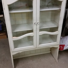 Before and After Old Hutch to Play setting