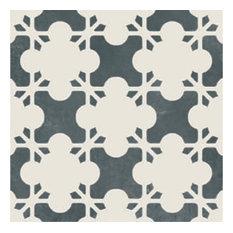 Azulej Estrela, Black, Box of 24 Tiles