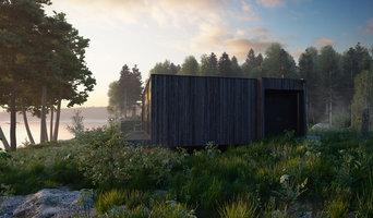Визуализация дома в Карелии для архитектора Майи Баклан