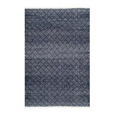 Safavieh Ashling Flatweave Rug, Navy, 6'x9'