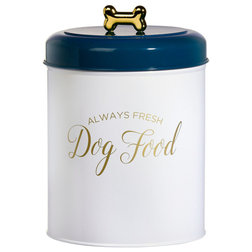 Contemporary Pet Bowls And Feeding by Global Amici