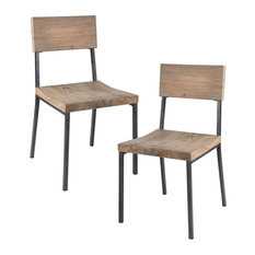 Tacoma Dining Chair, Set of 2, Gray