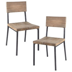 Industrial Dining Chairs by Olliix
