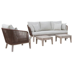 Tropical Outdoor Lounge Sets by Vig Furniture Inc.
